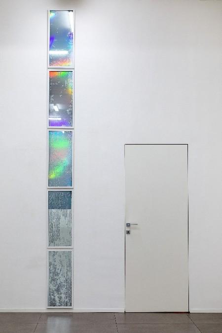 Luce con ombra della pittura, 2019